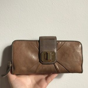Juicy Couture Brown Leather Wallet